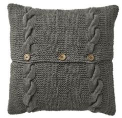 Housse de coussin tricoté - les 3 suisses