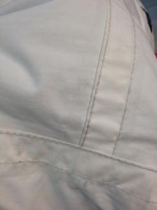 Blouson blanc (avant)